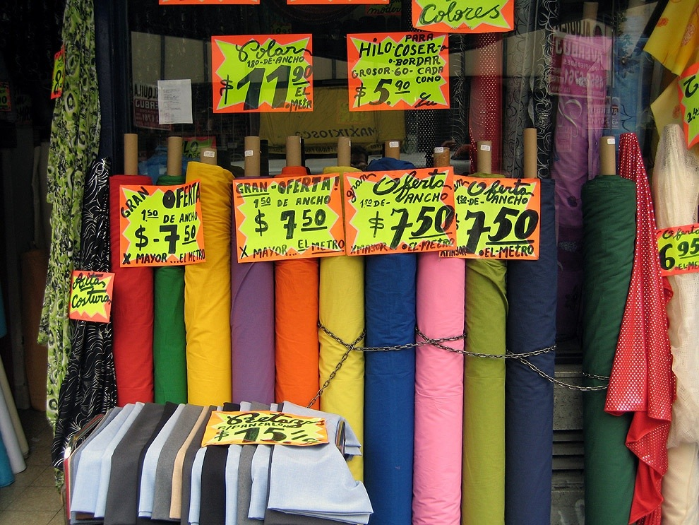 Fabric store buenos aires needles thread and love for Fabric outlet near me